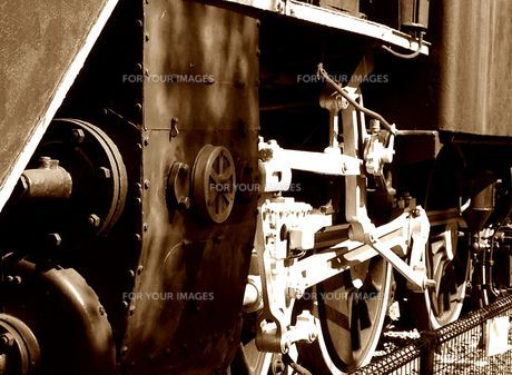C11 195 力強い車輪の写真素材 [FYI00247103]