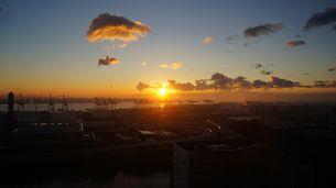 東京の日の出の素材 [FYI00247206]