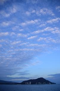 空に映える雲の写真素材 [FYI00247273]