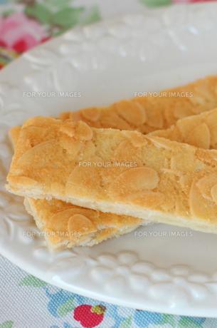手作り アーモンドクッキーの写真素材 [FYI00247352]
