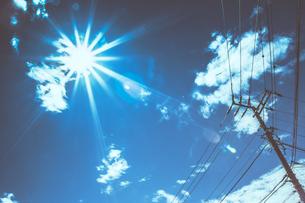 summer skyの写真素材 [FYI00247454]