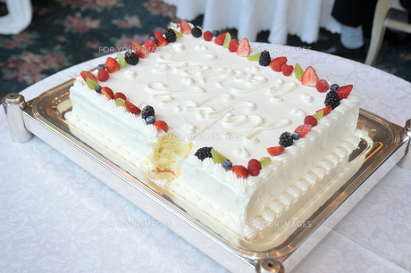 ケーキカットの素材 [FYI00248168]