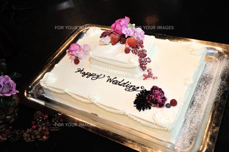 ウェディングケーキの写真素材 [FYI00248200]