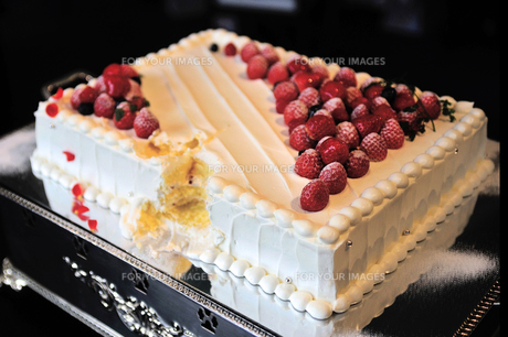 ウェディングケーキの素材 [FYI00248206]