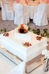 ウェディングケーキの素材 [FYI00248207]