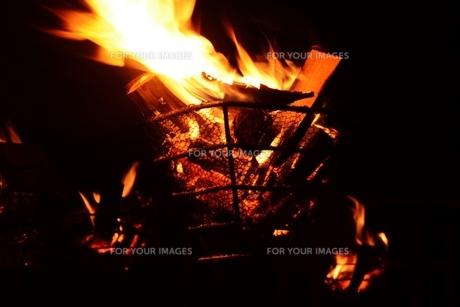 かがり火の素材 [FYI00248776]