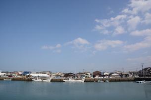 漁港・福岡市加布里漁港の素材 [FYI00248802]