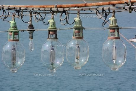 イカ釣り船・集魚ランプの素材 [FYI00248806]