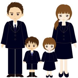 お受験の親子の写真素材 [FYI00249098]