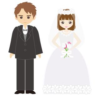 結婚式カップルの写真素材 [FYI00249104]