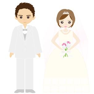 結婚式カップルの写真素材 [FYI00249107]