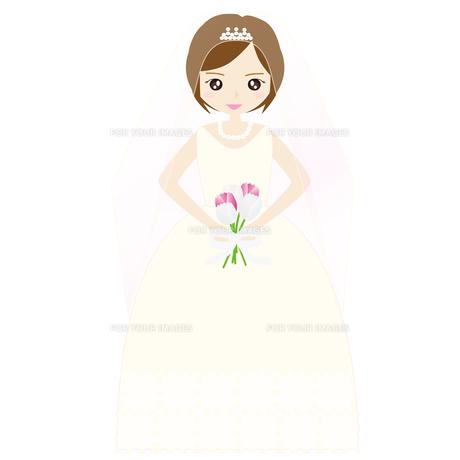結婚式の新婦の写真素材 [FYI00249108]