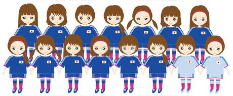 サッカー女子の写真素材 [FYI00249109]