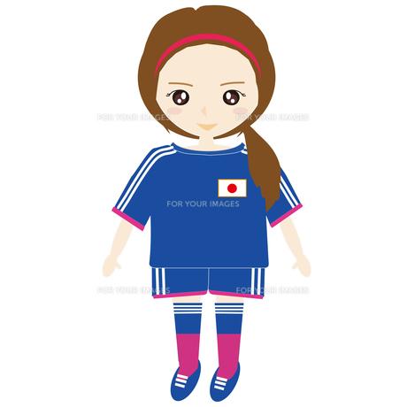 サッカー女子の写真素材 [FYI00249112]