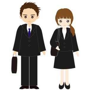 就職活動の男女の写真素材 [FYI00249113]