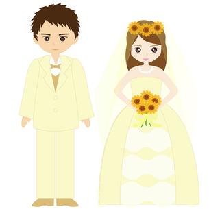 結婚式カップルの写真素材 [FYI00249114]