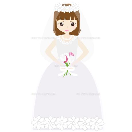 結婚式の新婦の写真素材 [FYI00249118]