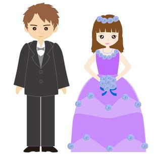 結婚式カップルの写真素材 [FYI00249125]
