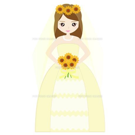 結婚式の新婦の写真素材 [FYI00249143]