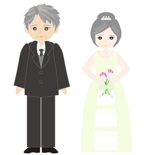 シニア婚の写真素材 [FYI00249145]