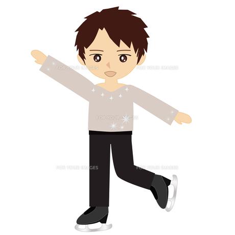 男子フィギュアスケートの写真素材 [FYI00249158]