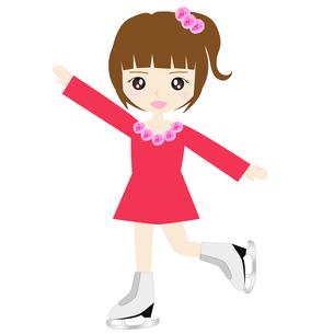 女子フィギュアスケートの写真素材 [FYI00249159]