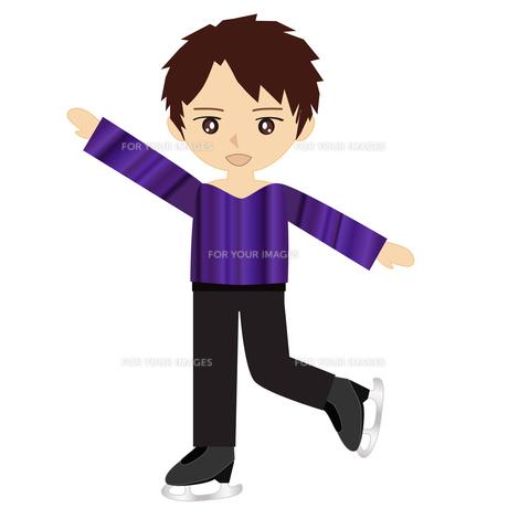 男子フィギュアスケートの写真素材 [FYI00249165]