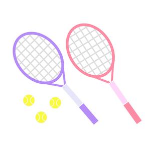 テニスラケットとボールの写真素材 [FYI00249166]