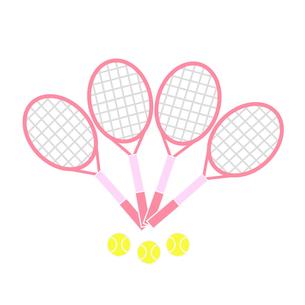 テニスラケットとボールの写真素材 [FYI00249172]