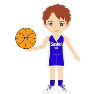 バスケットボール男子の写真素材 [FYI00249173]