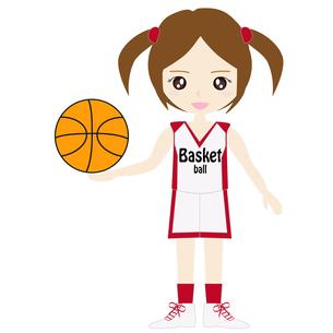 バスケットボール女子の写真素材 [FYI00249180]