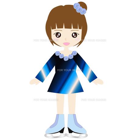 女子フィギュアスケートの写真素材 [FYI00249181]