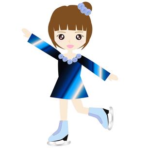 女子フィギュアスケートの写真素材 [FYI00249182]