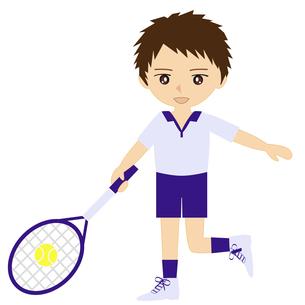 テニス男子の写真素材 [FYI00249184]