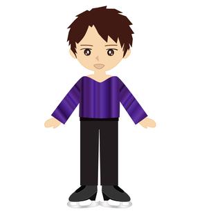 男子フィギュアスケートの写真素材 [FYI00249186]