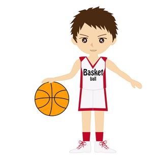 バスケットボール男子の写真素材 [FYI00249187]