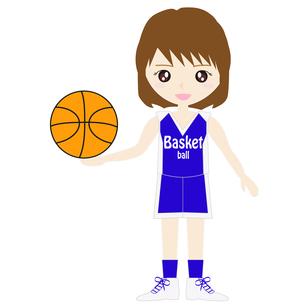 バスケットボール女子の写真素材 [FYI00249191]