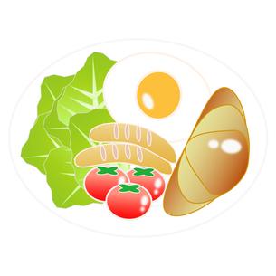 食べ物(洋朝食)の写真素材 [FYI00249198]