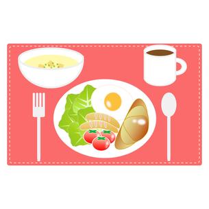 食べ物(洋朝食セット)の写真素材 [FYI00249207]