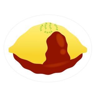 食べ物(オムライス)の写真素材 [FYI00249208]