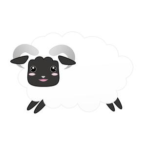羊(未)の写真素材 [FYI00249240]