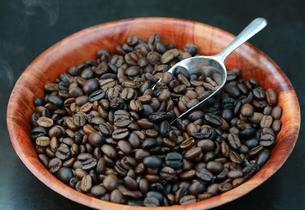 コーヒー豆の写真素材 [FYI00249298]