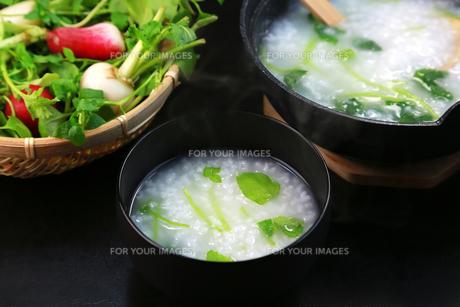 七草粥の写真素材 [FYI00249399]