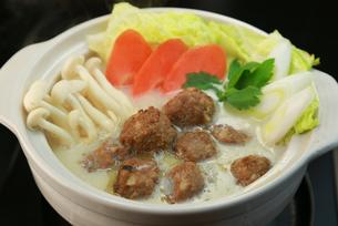 肉団子鍋の写真素材 [FYI00249431]