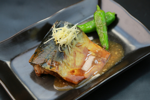 鯖の味噌煮の写真素材 [FYI00249435]