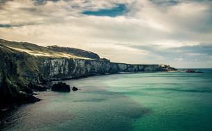 アイルランドの海岸沿いの素材 [FYI00249639]