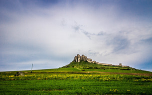 スピシュ城の写真素材 [FYI00249645]