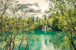 プリトヴィツェ湖群国立公園の素材 [FYI00249664]
