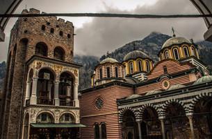 リラ修道院の写真素材 [FYI00249692]