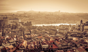 ポルト旧市街の素材 [FYI00249708]